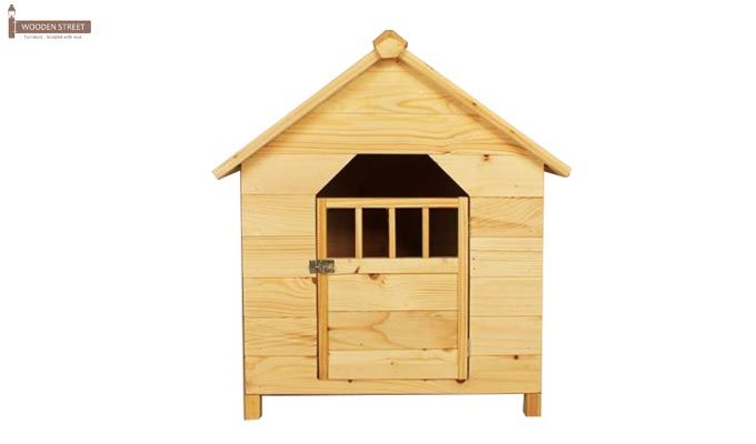 Diva Dog House (Natural Finish) -3