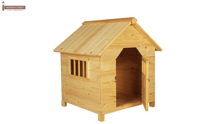 Diva Dog House (Natural Finish) -4