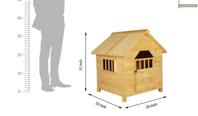 Diva Dog House (Natural Finish) -6