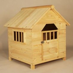 Diva Dog House (Natural Finish)