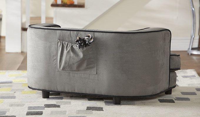 Lily Dog Sofa Bed (Warm grey)-2