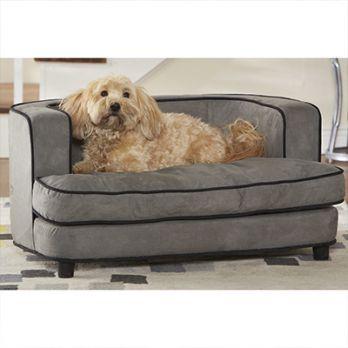 Lily Dog Bed (Warm grey)