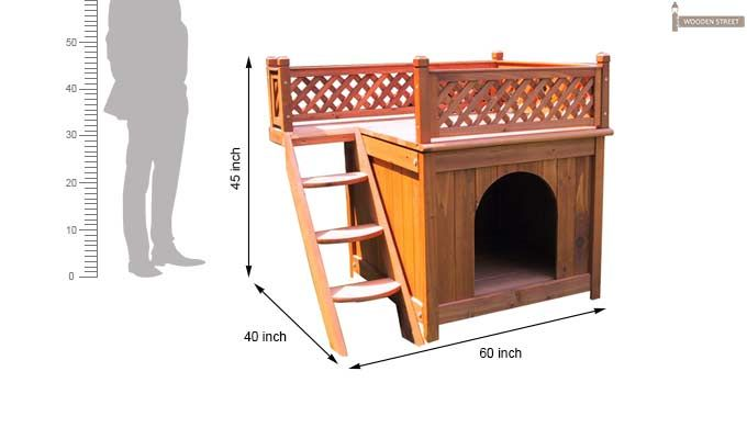 Lotus Dog House (Honey Finish)-4