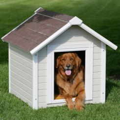 Maple Dog House (White Finish)