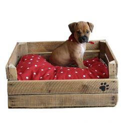 Lomi Dog Bed (Natural Finish)