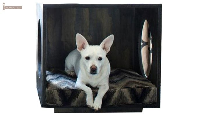 Sash Dog House (Walnut Finish)-2