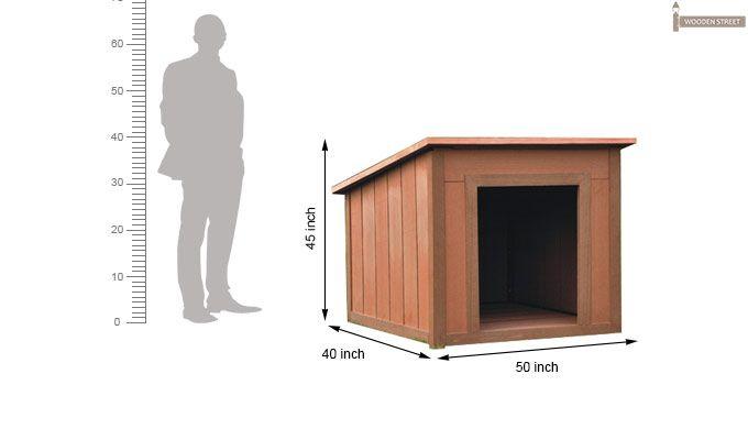 Sera Dog House (Honey Finish)-3