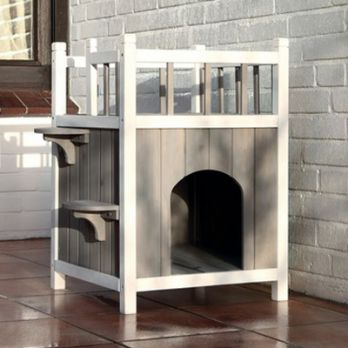 Wooden Cat House and Dog House Online at Best Prices