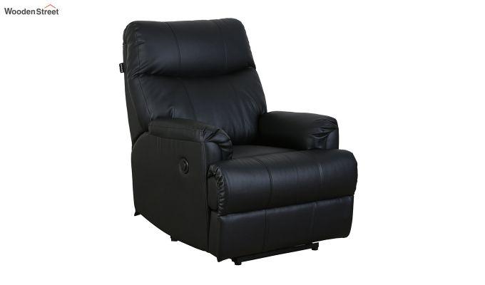 Carol 1 Seater Recliner (Black)-1