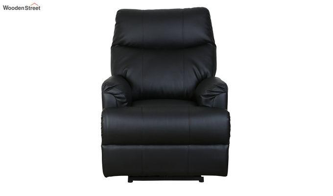 Carol 1 Seater Recliner (Black)-2