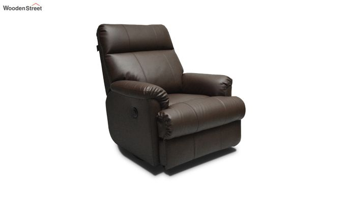 Carol 1 Seater Recliner (Brown)-1
