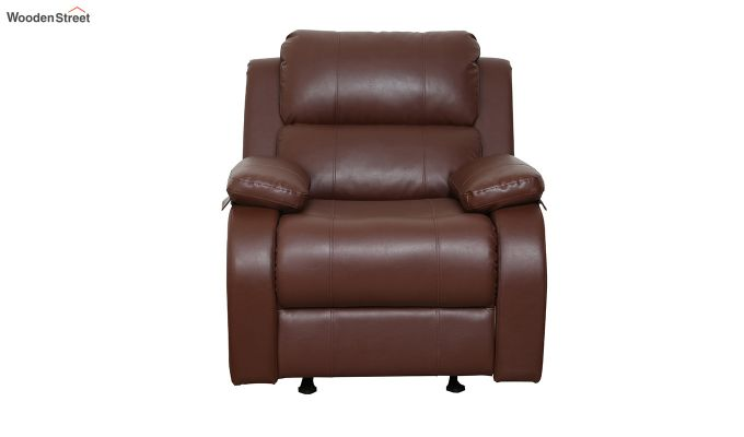 Cheer 1 Seater Recliner (Brown)-2