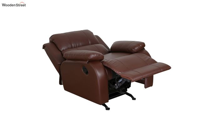 Cheer 1 Seater Recliner (Brown)-3