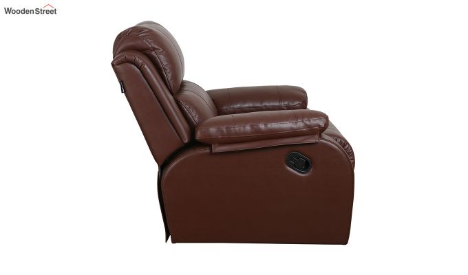 Cheer 1 Seater Recliner (Brown)-4