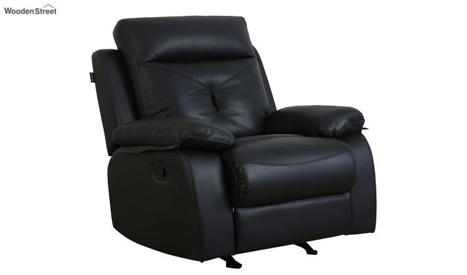 Easyon 1 Seater Recliner (Black)-1