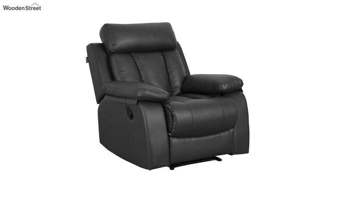 Magna 1 Seater Recliner (Black)-1