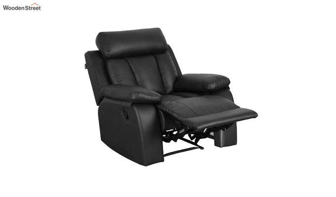 Magna 1 Seater Recliner (Black)-3