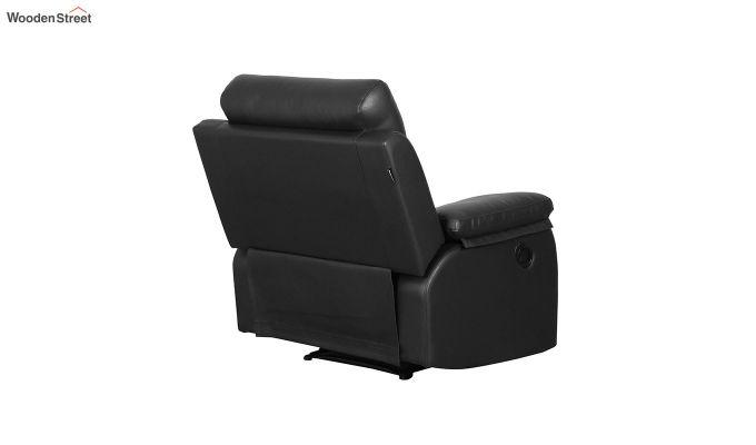 Magna 1 Seater Recliner (Black)-4
