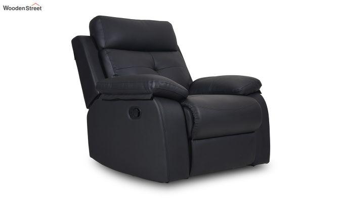 Ohio 1 Seater Recliner (Black)-1