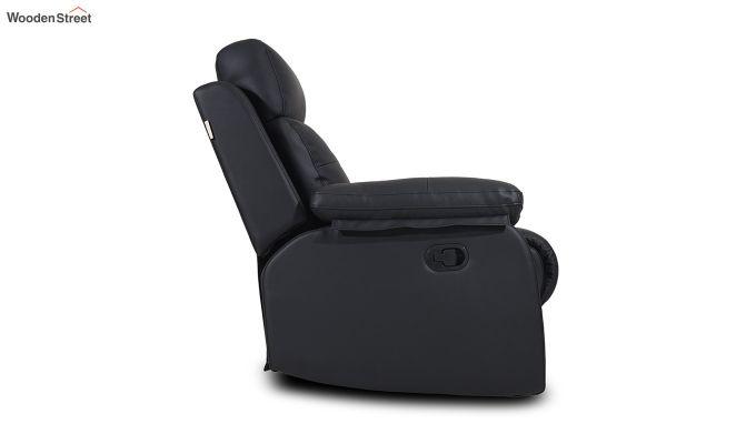 Ohio 1 Seater Recliner (Black)-4