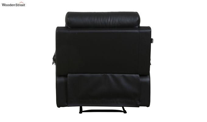 Ohio 1 Seater Recliner (Black)-5