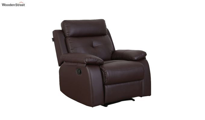 Ohio 1 Seater Recliner (Brown)-1