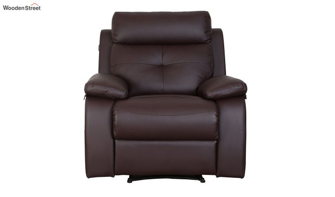 Ohio 1 Seater Recliner (Brown)-2