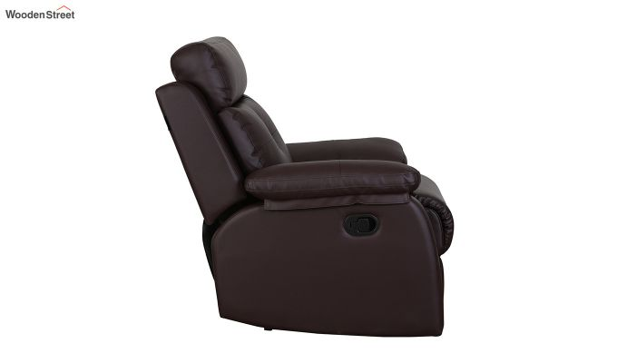 Ohio 1 Seater Recliner (Brown)-4