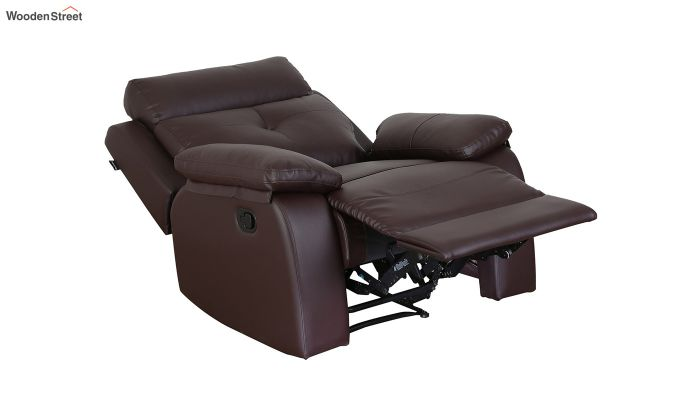 Ohio 1 Seater Recliner (Brown)-5