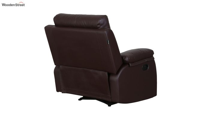 Ohio 1 Seater Recliner (Brown)-6