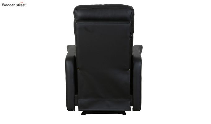 Sleek 1 Seater Recliner (Black)-7