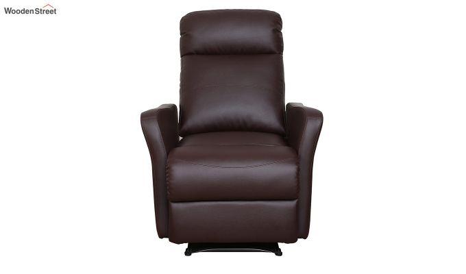 Sleek 1 Seater Recliner (Brown)-3