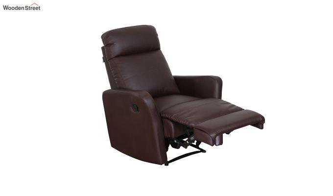Sleek 1 Seater Recliner (Brown)-6