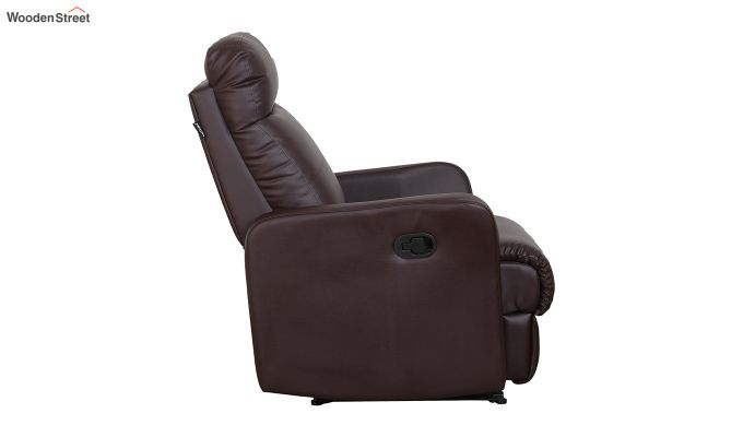 Sleek 1 Seater Recliner (Brown)-8