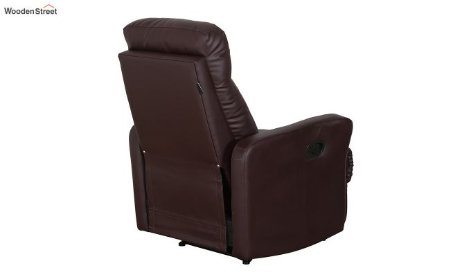 Sleek 1 Seater Recliner (Brown)-9