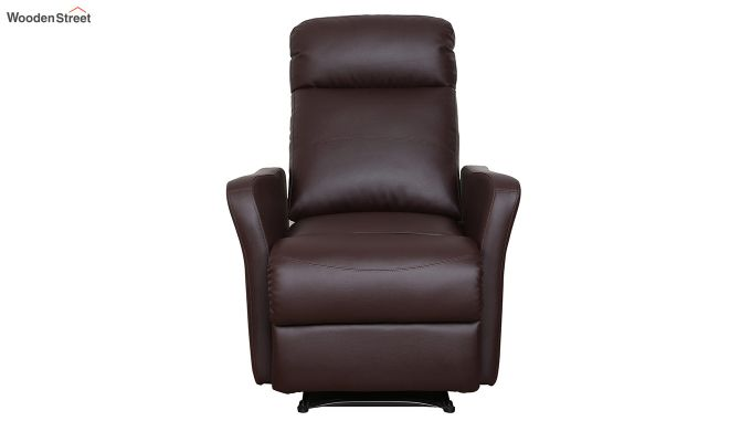 Sleek 1 Seater Recliner (Brown)-2