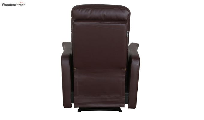 Sleek 1 Seater Recliner (Brown)-3