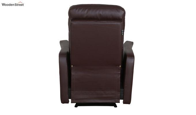 Sleek 1 Seater Recliner (Brown)-2