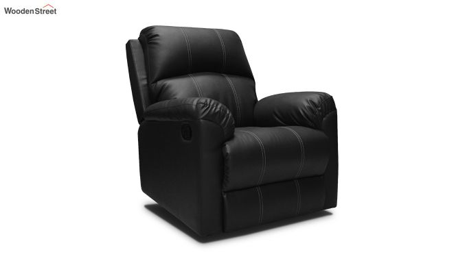 Spino 1 Seater Recliner (Black)-1