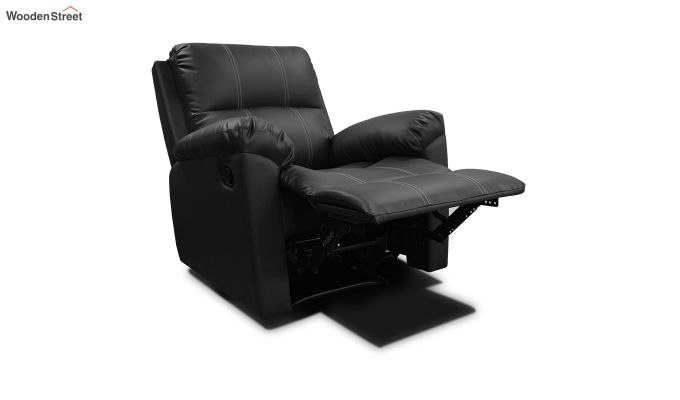 Spino 1 Seater Recliner (Black)-3