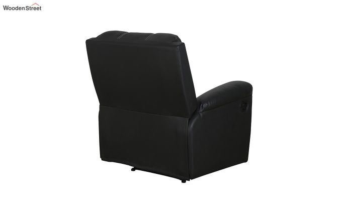 Spino 1 Seater Recliner (Black)-5