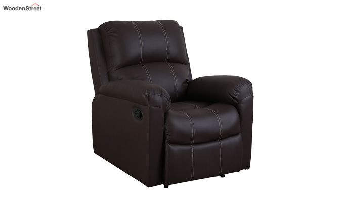 Spino 1 Seater Recliner (Brown)-1