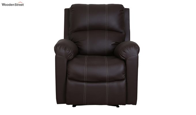 Spino 1 Seater Recliner (Brown)-2