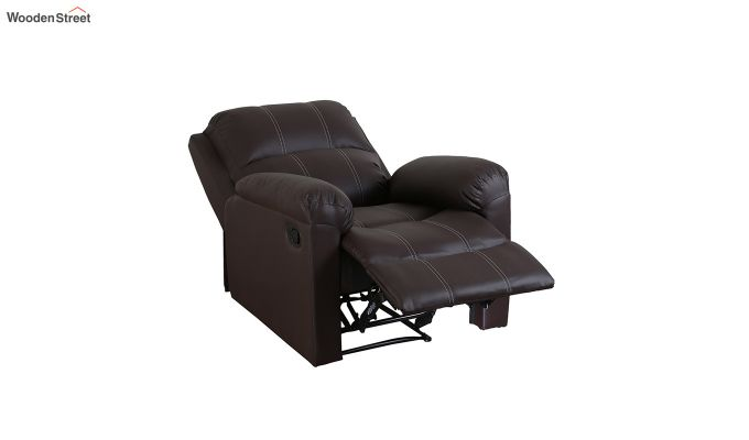 Spino 1 Seater Recliner (Brown)-4