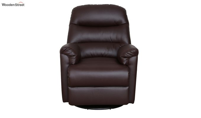 Wave 1 Seater Recliner (Brown)-2
