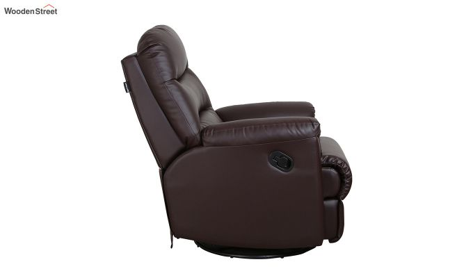Wave 1 Seater Recliner (Brown)-5