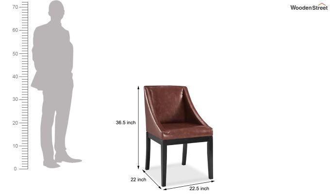 Jacob Restaurant Chair (Leatherette)-4