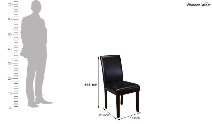 Safia Restaurant Chair (leatherette)-3
