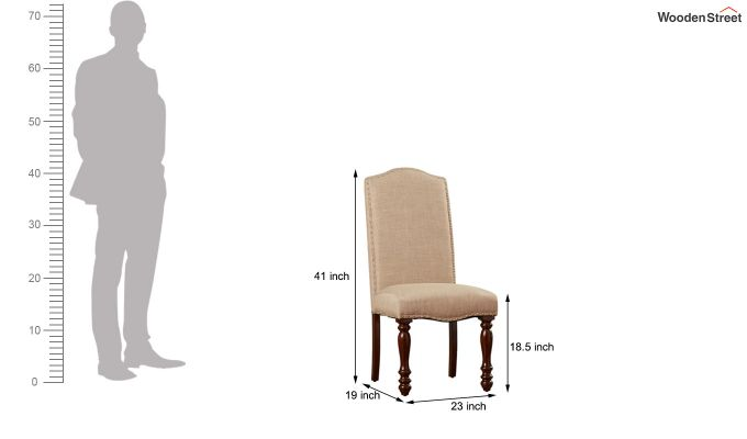 Troya Restaurant Chair (Irish Cream)-6