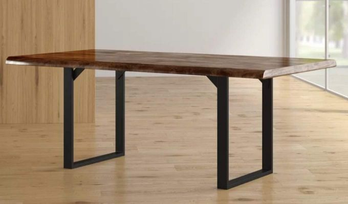 Balor Restaurant Table (Teak Finish)-1
